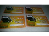 Flamingoland park/zoo half price tickets x 4