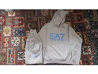 EA7 ARMANI HOODY TRACKSUIT
