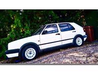 VW Golf MK2 1.8 8V GTI project
