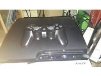 Playstation 3 160gb and 3 games and 2 blu-rays movies (Swap only)