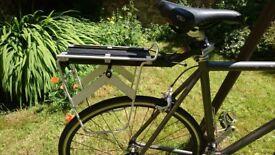 Topeak clip-on pannier rack - like new!