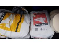 Gyproc Joint Cement and Fillers and paper tapes