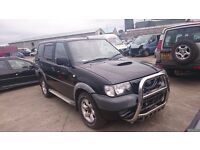 2004 NISSAN TERRANO, 2.7 DIESEL, BREAKING FOR PARTS ONLY, POSTAGE AVAILABLE NATIONWIDE