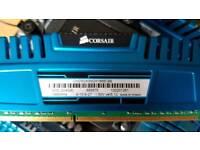 Corsair 2 x 4GB 1866 MHz ram