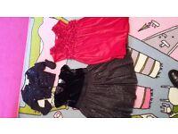 age 4-5 dresses Debenhams and M&S