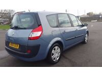 7 SEATER RENAULT RENAULT GRAND SCENIC DIESEL MANUAL IN CLEAN CONDITION. LONG MOT. HPI CLEAR