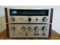 Vintage Pioneer amplifier and tuner