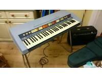 RARE Welson Gypsy Star Organ keyboard vintage retro