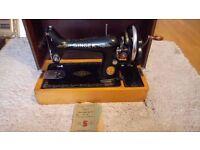 Singer Sewing Machine - 1939 Vintage 99k Model