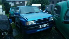 Vauxhall frontera breaking for spares
