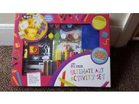 Ultimate Art Kit - brand new - Includes over 450 arty essentials