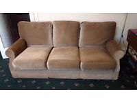 Two matching settees - three-seater and two-seater