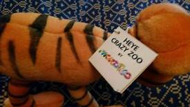 Collectable soft toy Tiger