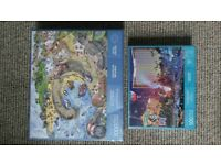 2 brand new, still shrink wrapped, puzzles