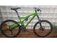 SANTA CRUZ BANTAM Mountain Bike Green