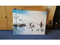 Next Venice canvas 30 x 22 inches great condition