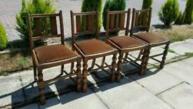 4 x Vintage Dining Chairs