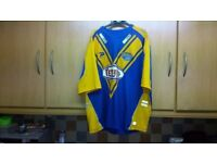 Retro Leeds Rhinos Adult Patrick Rugby League Shirt Jersey Tetleys 48ins + Chest. £20.