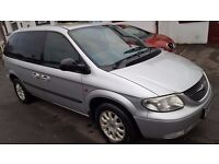 53 REG CHRYSLER VOYAGER 2.5 CRD ANNIVERSARY MODEL FSH 89K 12MTH MOT EXCELLENT CONDITION