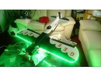RC plane, fully restored, fully working, with all radio gear,(transmitter, recever etc)