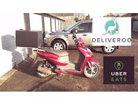 Positives Honda Dylan 125cc