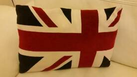 Union jacket small cushion £3