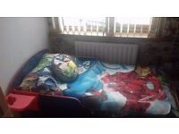 Spiderman toddler bed and mattress