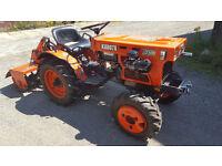 kubota b7100 4wd tractor