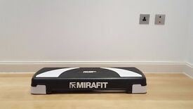 MiraFit 3 Level Aerobic Exercise Stepper Board - Adjustable Height NEW