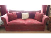 3 Piece chenille sofa set