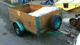 5' x 3' DROP BACK BOX TRAILER