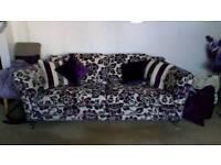 Laure Ashley 4 seater sofa