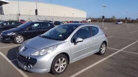 Very good condition Peugeot 207 (08 model), tax Jan 2018, MOT Feb 2018, A/C, Sunroof, recent service