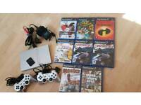 PS2 8 games 2 controls