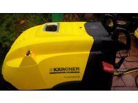 Karcher 7/10 -4 M Hot Industrial Pressure Washer Steam Cleaner Car Wash Valeting