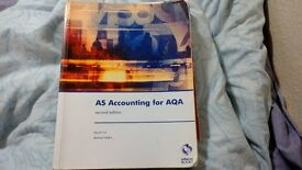 AS Accounting for AQA (second edition)