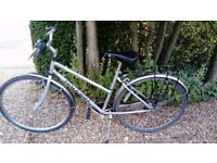 Solid, easy to cycle raleigh bike