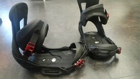 Burton Malavita EST Bindings - Black and Red - L - Size UK10+ - £249 RRP