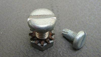 Vintage Schwinn Bicycle Chainguard Screws Nuts Bolts Phantom Bike Krate Stingray