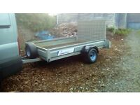 8x5 indespension trailer with ramp