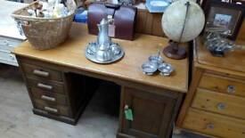 Old writing desk deep