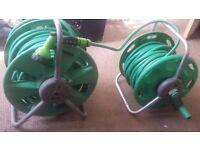 Garden hose - two spools