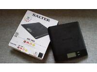 Salter Pro Digital Kitchen Scales - Black (RRP £19.99)