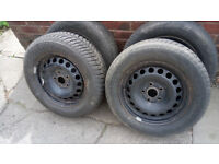 "AUDI A4 B6 WINTER WHEELS 16"" AND TYRES. FIT OTHERS. DELIVERY POSSIBLE"