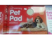 Self warming pet pad. Brand new only £5 each