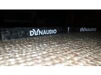 Granite plinths for Dynaudio Emit, Xeo,floorstanding speakers