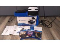 VR for playstation 4+camera + 3 games- text only please