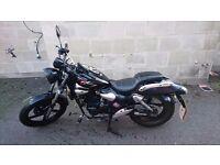 """""""Kymco ZING II Dark Side"""" 125cc Learner legal, 5700 miles (2014)"""