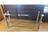 Glass tv units for sale.