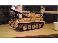 Chieftain / Challenger Tank Huge Toy - with rotating Turret firing the bullets